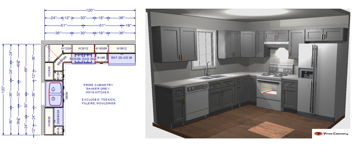 What Is A 10x10 Kitchen