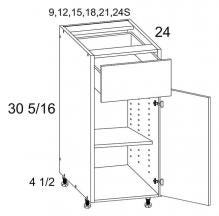 One Drawer One Door Bases