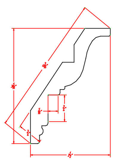 Crown Moulding-ICM