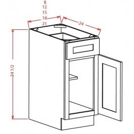 Single Door Single Drawer Bases