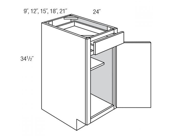 Base 1 Door 1 Drawer