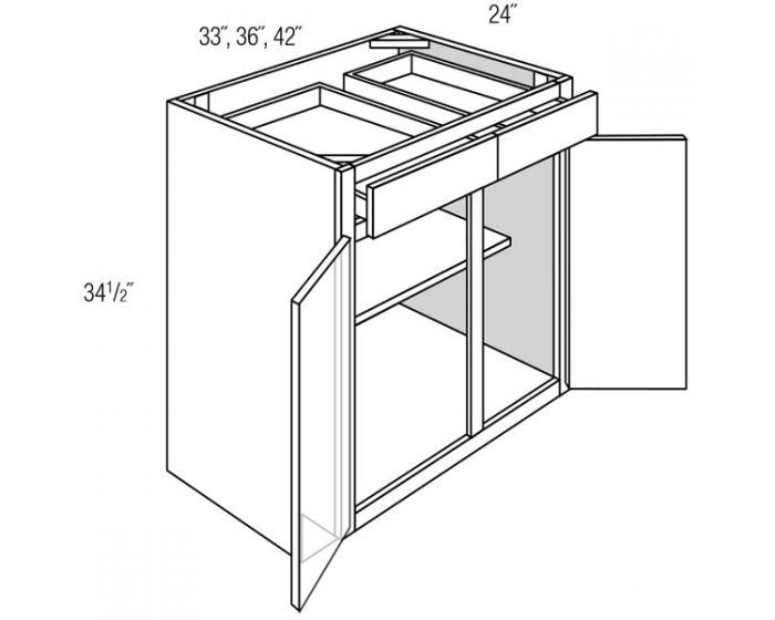Base 2 Door 2 Drawer