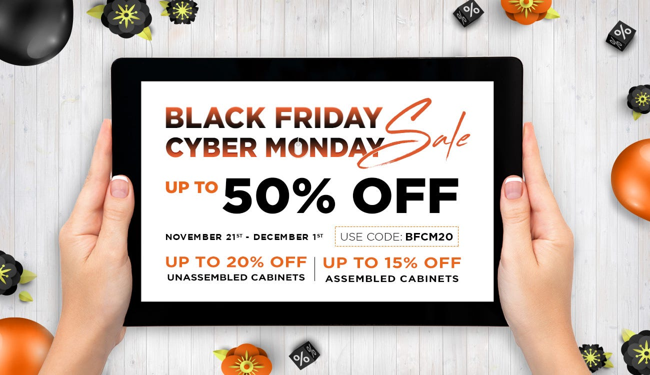 BLACK FRIDAY/CYBER MONDAY SALE
