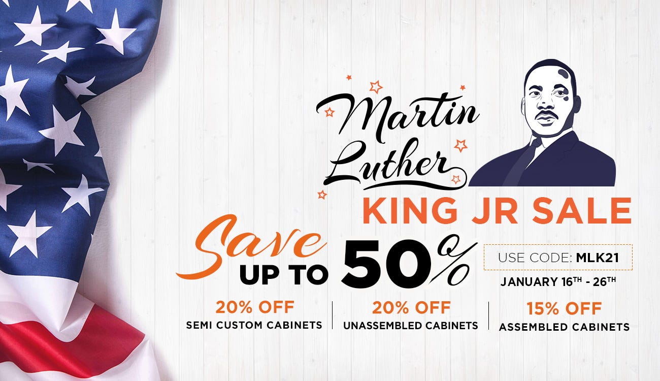 MARTIN LUTHER KING JR SALE