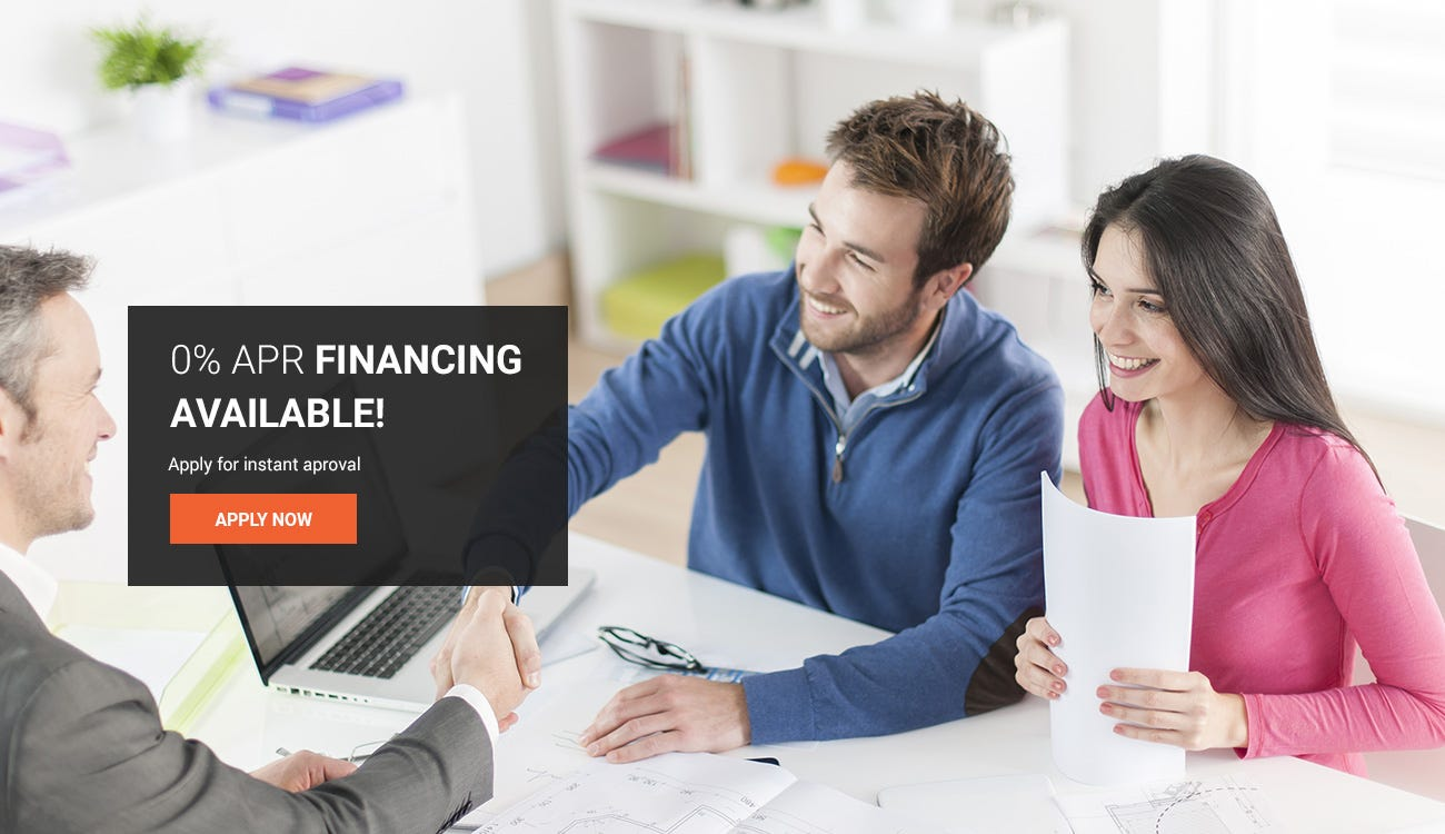 Financing and Quick Quote