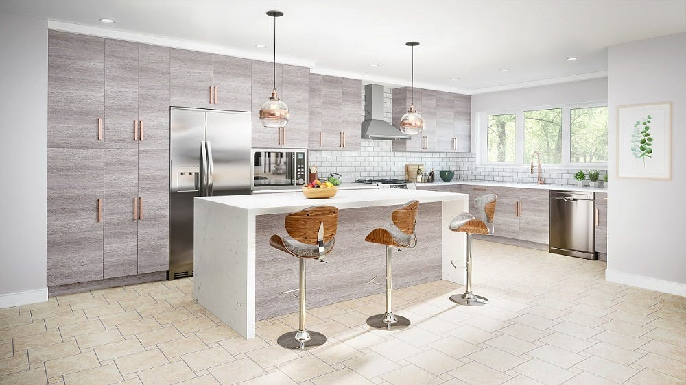 Memphis Grey Kitchen Cabinets Photo Gallery | Prime Cabinetry