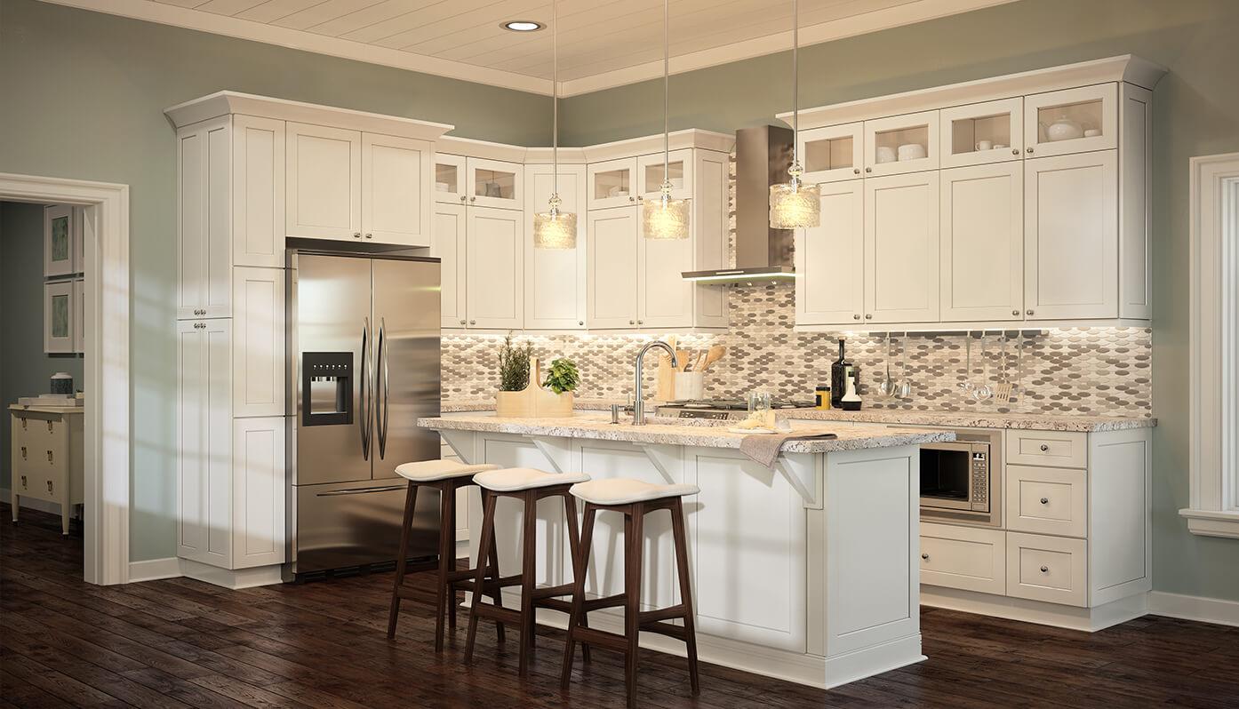 Modern White Kitchen Cabinets   White Kitchen Cabinets for ...