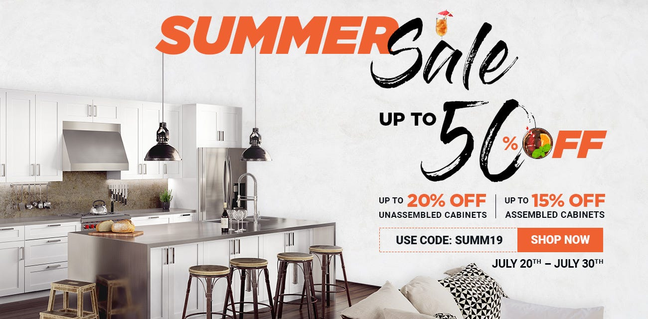 Save Up to 50% Off During Summer Sale