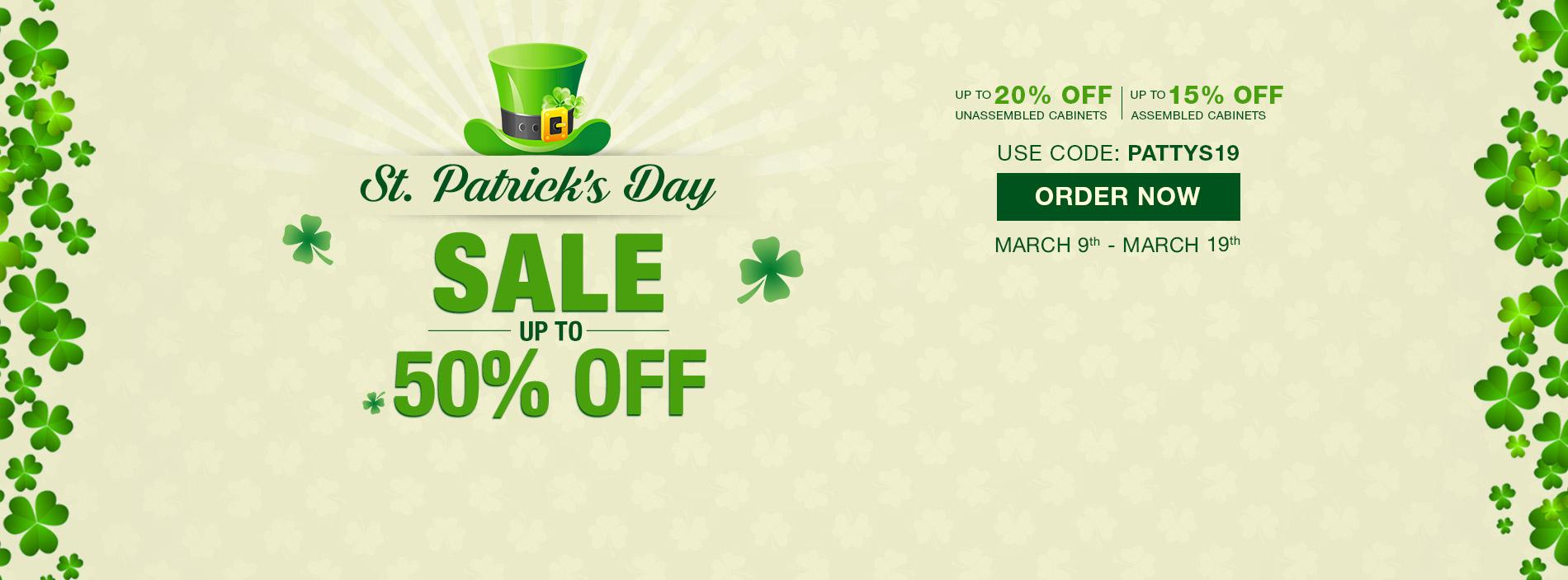 Patrick's day Sale