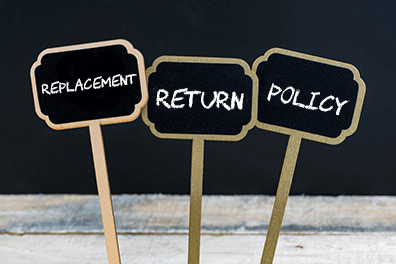 Replacement and Return policy